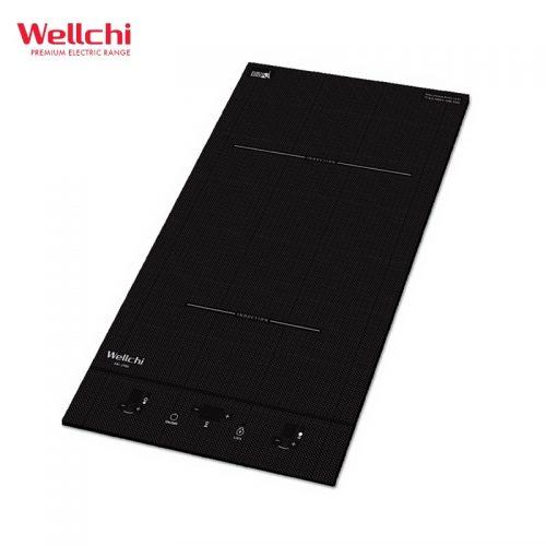 Bếp từ đôi Wellchi KRI-2900 dạng dọc Domino Hàn Quốc