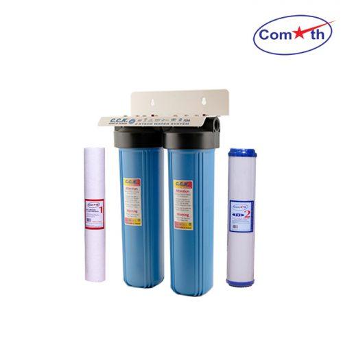 Bộ lọc tổng 2 cấp CCK Đài Loan 2 Stages Water Filter