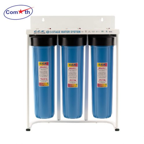 Bộ lọc tổng 3 cấp CCK Đài Loan 3 Stages Water Filter