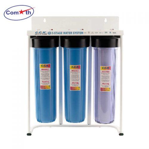 Bộ lọc tổng 3 cấp CCK Đài Loan 3 Stages Water Filter (cốc số 1 trong)