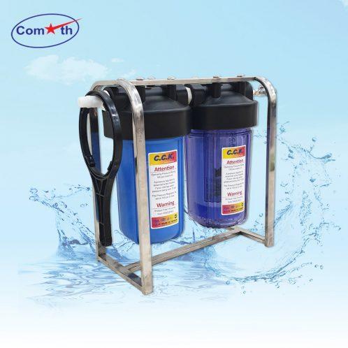 Bộ lọc nước sinh hoạt 2 cấp 10 inch Comath C907-2