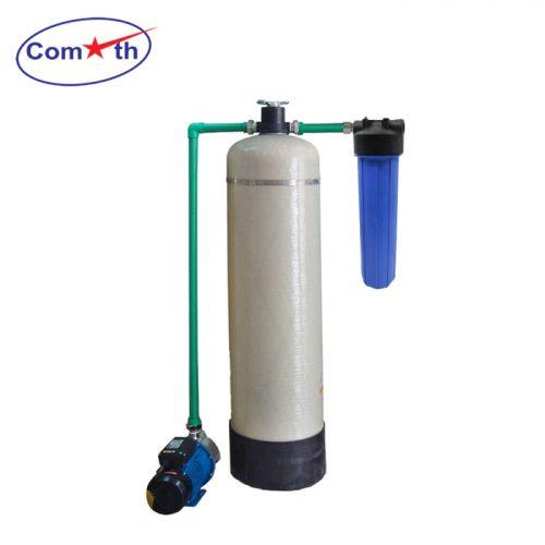 Hệ thống lọc nước giếng khoan 1 cột Composite