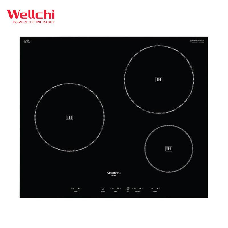 Bếp từ cao cấp 3 bếp Wellchi KRI-3850 Hàn Quốc