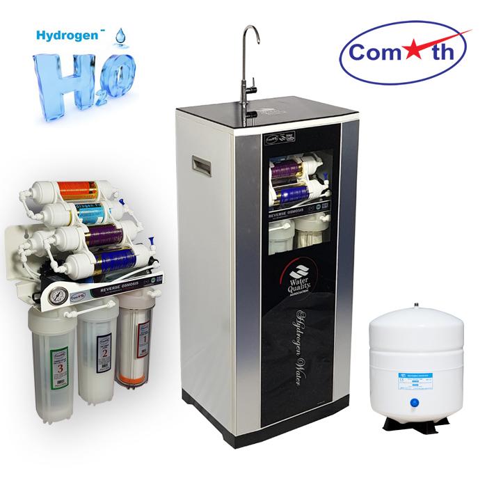 Máy lọc nước Hydrogen Comath CMG2KR_8 có đồng hồ đo áp
